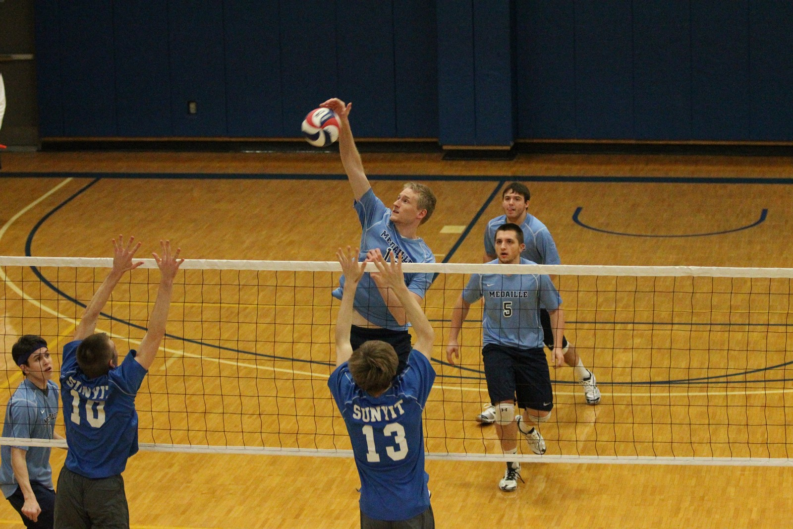 e26308497 Mavs Fall in Thrilling Five Setter - Medaille College Athletics